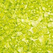Бисер Preciosa Чехия (уп. 10 г) 01153 св.-салатовый прозрачный