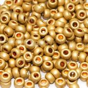Бисер Preciosa Чехия (уп. 10 г) 18181 золотистый металлик