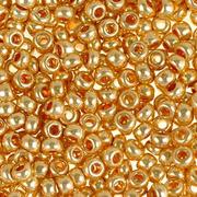 Бисер Preciosa Чехия (уп. 10 г) 18184 золотистый металлик