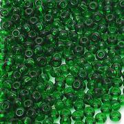 Бисер Preciosa Чехия (уп. 10 г) 50060 зеленый прозрачный