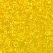 Бисер Preciosa Чехия (уп. 10 г) 80010 желтый прозрачный