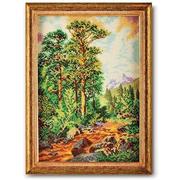 Набор для вышивания бисером Кроше В-244 «Горная тропа» 26*37 см