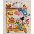 Набор для вышивания Алиса 0-128 «Медовая кладовушка» 19*25 см
