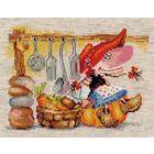 Набор для вышивания Алиса 0-129 «Овощная кладовушка» 19*15 см