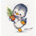 Набор для вышивания Алиса 0-133 «Спешу на праздник» 11*12 см