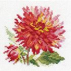 Набор для вышивания Алиса 0-139 «Георгин» 10*10 см