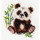 Набор для вышивания Алиса 0-145 «Панда» 9*10 см