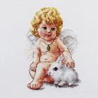 Набор для вышивания Алиса 0-146 «Ангел Хранитель» 10*14 см