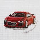 Набор для вышивания Алиса 0-157 «Красный спорткар» 9*6 см