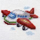 Набор для вышивания Алиса 0-160 «Самолетик» 8*6 см