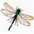 Набор для вышивания Алиса 0-161 «Стрекоза» 8*6 см