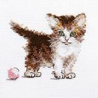 Набор для вышивания Алиса 0-169 «Маленькая киса» 10*8 см