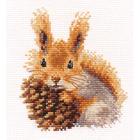 Набор для вышивания Алиса 0-173 «Белочка» 11*12 см