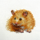 Набор для вышивания Алиса 0-174 «Хомячок» 9*7 см