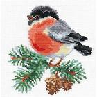 Набор для вышивания Алиса 1-15 «Снегирек» 14*14 см
