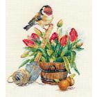 Набор для вышивания Алиса 1-24 «Весеняя пора» 18*20 см