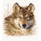 Набор для вышивания Алиса 1-27 «Волк» 12*12 см
