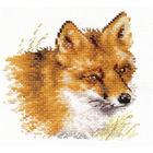 Набор для вышивания Алиса 1-28 «Лиса» 12*12 см