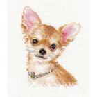 Набор для вышивания Алиса 1-30 «Чихуахуа» 9*13 см