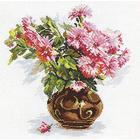 Набор для вышивания Алиса 2-09 «Цветущий сад. Хризантемки» 26*29 см