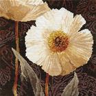 Набор для вышивания Алиса 2-16 «Белые цветы. Открытый свету» 25*25 см