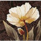 Набор для вышивания Алиса 2-17 «Белые цветы. Залитый светом» 25*25 см