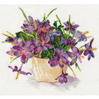 Набор для вышивания Алиса 2-26 «Цветущий сад. Крокусы» 29*26 см