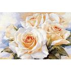 Набор для вышивания Алиса 2-32 «Белые розы» 40*27 см