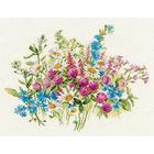 Набор для вышивания Алиса 2-33 «Клевер и ромашки» 29*22 см