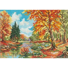 Набор для вышивания Алиса 3-06 «Сентябрь в лесу» 22*16 см