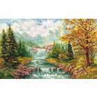 Набор для вышивания Алиса 3-09 «Горный водопад» 41*26 см