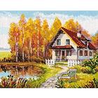 Набор для вышивания Алиса 3-14 «В гостях у осени» 21*17 см