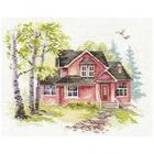 Набор для вышивания Алиса 3-19 «Майский домик» 18*14 см