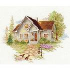 Набор для вышивания Алиса 3-20 «Июльский домик» 18*14 см