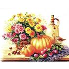 Набор для вышивания Алиса 5-15 «Натюрморт с тыквой» 38*28 см