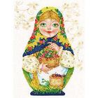 Набор для вышивания Алиса 6-05 «Матрешка. Летняя краса» 19*26 см