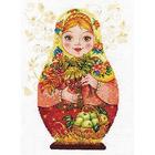 Набор для вышивания Алиса 6-06 «Матрешка. Осенняя краса» 19*26 см