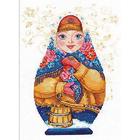Набор для вышивания Алиса 6-07 «Матрешка. Зимняя краса» 19*26 см