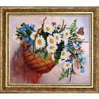 Набор для вышивания бисером Butterfly №212 «Корзинка с цветами»