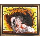 Набор для вышивания бисером Butterfly №426 «Леди в черном»