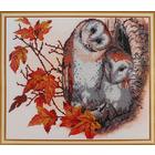 Набор для вышивания бисером Hobby&Pro БН-3075 «Совушки» 30*25 см