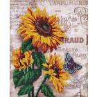 Набор для вышивания бисером Hobby&Pro БН-3106 «Подсолнухи и бабочка» 20*26 см