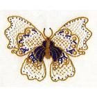 Набор для вышивания бисером Panna Б-1240 «Папильон» 18*23 см