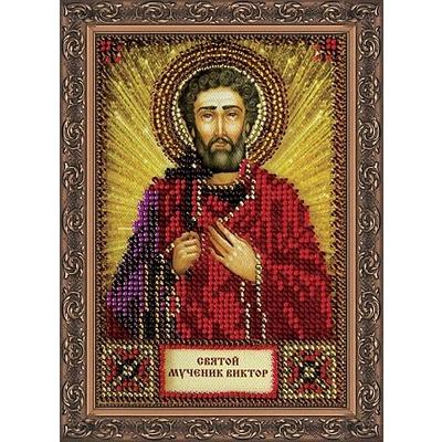 Набор для вышивания бисером Абрис ААМ-031 «Св. Виктор» 10*15 см в интернет-магазине Швейпрофи.рф