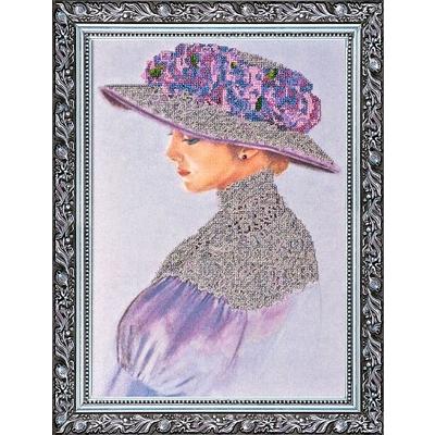Набор для вышивания бисером Абрис АВ-002 «Виолет» 28*40 см в интернет-магазине Швейпрофи.рф