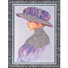Набор для вышивания бисером Абрис АВ-002 «Виолет» 28*40 см