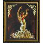 Набор для вышивания бисером Абрис АВ-020 «Катарина» 23*28 см