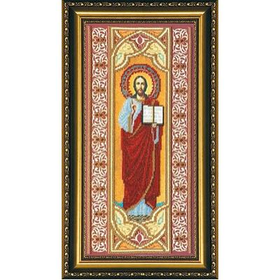 Набор для вышивания бисером Абрис АВ-061 «Иисус» 19*40,5 см в интернет-магазине Швейпрофи.рф