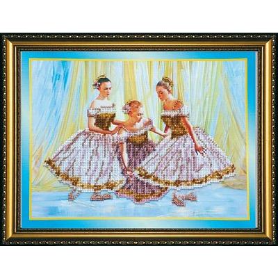 Набор для вышивания бисером Абрис АВ-087 «Танцовщицы» 30*23 см в интернет-магазине Швейпрофи.рф