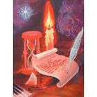 Набор для вышивания бисером БИС (27/35) МП-082 «Свеча» 27*35 см